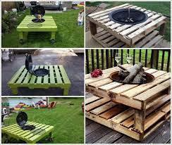 build a pallet fire pit that won t