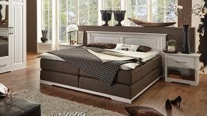 15 Boxspringbett Kalas Bett Schlafzimmerbett Kiefer Massiv Weiß X