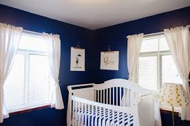 Navy and Gold Girl's Nursery - Project Nursery