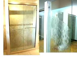 frosted shower doors elan frosted glass shower door cleaning