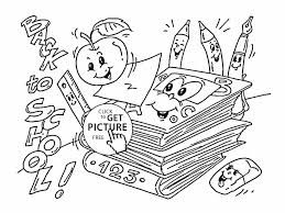 Small Picture Titus Back Back To School Coloring Sheets To School Coloring Pages