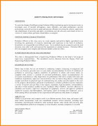 7+ probation officer resume examples