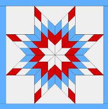 blazing star | Ramblings from Elf's Quiltorium & The block design i Adamdwight.com