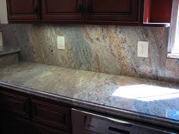 Non Granite Kitchen Countertops Full Granite Backsplash To Have Or Not