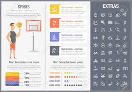 Sports Infographic Template Sports Infographic Template Elements And Icons Infograph Includes