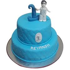 First Birthday Cake For Boy Online Best Designs Yummycake