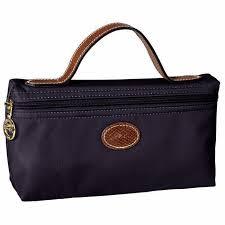 longch le pliage nylon cosmetic bag navy