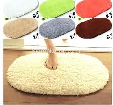 oval bath rugs oval bathroom rugats waste absorbing door mat slip resistant pad font b microfiber doormat oval shaped bath mats