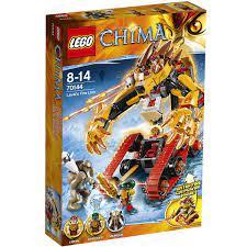 Đồ chơi LEGO 70144 - Sư Tử Lửa Của Laval gồm 450 chi tiết