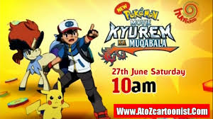 POKÉMON MOVIE 15 : KYUREM KA MUQABALA FULL MOVIE IN HINDI DOWNLOAD (480P &  1080P) - ATOZ CARTOONIST ANIMATION INDIA