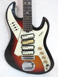 1000 images about dream team guitar vintage 1960s teisco norma 4 pick up rare shape design