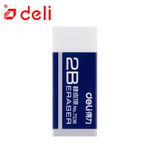 <b>Deli 1pc</b> 2B Pencils Eraser Advanced Sketch Drawing Eraser ...