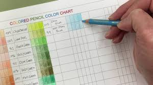 Colored Pencil Color Chart And Coloring Tips Karla Dornacher