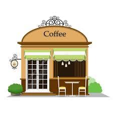 coffee shop building clipart. Fine Clipart Coffee Shop Inside Building Clipart E