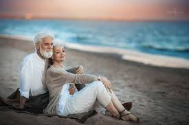 old couple love