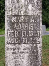 """Mary Ann """"Polly"""" Simpson Norris (1837-1918) - Find A Grave Memorial"""