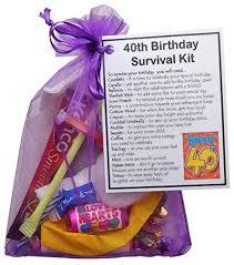 smile gifts uk 40th birthday survival kit novelty 40th birthday gift 40th birthday present