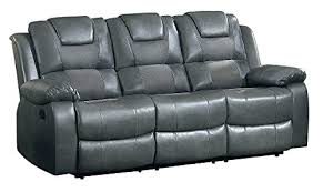 Loveseat With Cup Holders Glider Double Recliner  Center Storage Console Holder And 980