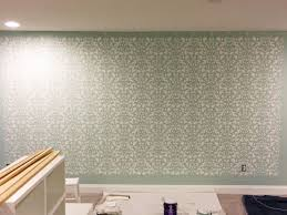 how to stencil a wall a beginner s