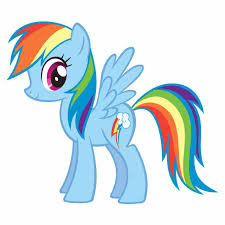 Small Picture Pony Coloring Pages Rainbow Dash Baby Free Printable For Kids Free