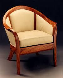 hand made barrel back chair by hatch studio  custommadecom