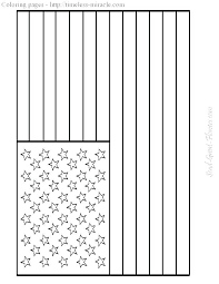 First American Flag Coloring Page Printable Flag Coloring Page