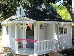 build backyard playhouse plans free how to a simple with loft elevated plan
