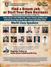 american dream u past events fort hood 3 2015