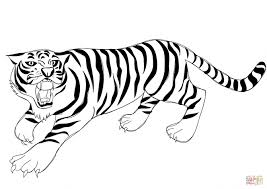 Small Picture Coloring Pages Coloring Pages Tigers Endearing Bengal Tiger
