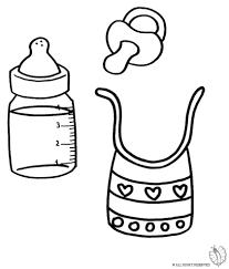 Disegno Di Kit Per Neonato Da Colorare Per Bambini