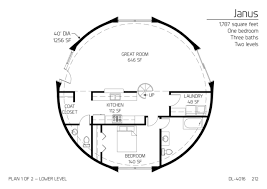 dome house plans. Contemporary Plans Floor Plan DL4016 In Dome House Plans R