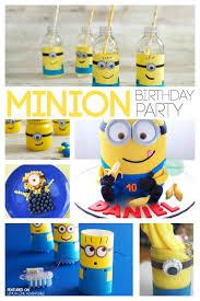Minion Birthday Party Totally Awesome Minion Birthday Party Ideas