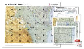 Brownsville Sectional Chart Cap Charts By Skysectionals Brownsville