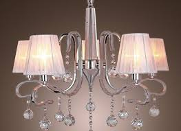 modern crystal chandeliers with lights white ceiling light