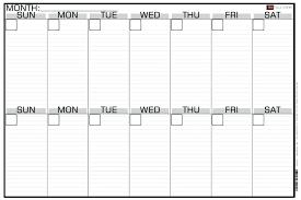 Menu Planning Calendar Printable Free Weekly Planners – Konfor
