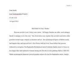 007 Essay Example Samplefirstpagemla Mlamat Heading Thatsnotus