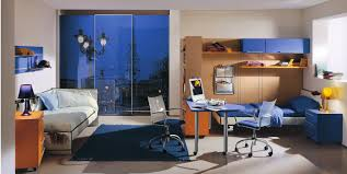 modern bedrooms for teenage boys. Luxury Blue Bed Decoration With Minimalist Wall Cabinet In Teen Boy Bedroom Ideas Combined Modern Bedrooms For Teenage Boys
