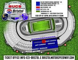 Bristol Motor Speedway Seating Chart Etsu Bucs At Bristol Kickoff Set For 1 30 News Archive