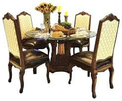 round glass top dining table kitchen tables palace 5 piece set com india and chairs gl