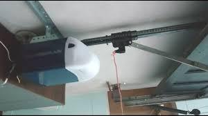 garage door chain off trackGarage Door Opener  How to Shorten and Cut the Rail in a Chain