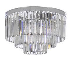 full size of living stunning odeon crystal chandelier 17 1100chromeflush retro odeon crystal fringe chandelier 1100chromeflush