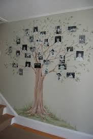 Hand Painted Family Tree Mural traditional-hall