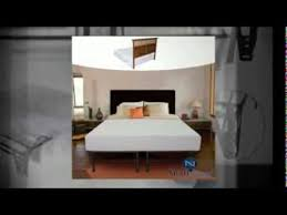 King Size Bed Frame with Headboard and Footboard Attachments - YouTube