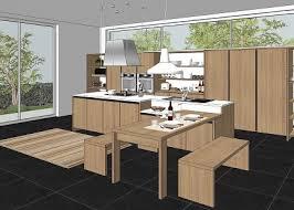 Sketchup Kitchen Design Custom Free 48D Models KITCHEN MODERN KITCHEN KALI ITALIAN DESIGN By