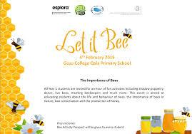 Bee Designs Malta Il Let It Bee Esplora Is Coming To Gozo Esplora