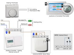 apnt 110 installing honeywell relays vesternet Wiring Diagram For Underfloor Heating Thermostat typical heating and hot water system 2Wire Thermostat Wiring Diagram
