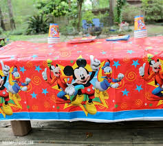 easy mickey mouse clubhouse party theme