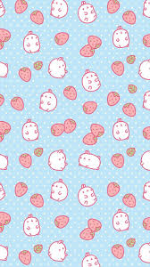 cute strawberry wallpaper. Fine Cute Most Popular Tags For This Image Include Cute Strawberry Molang  Wallpaper And Background Intended Cute Strawberry Wallpaper