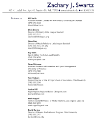 Refrences On Resume Resume Include References Reference Format Big Tips On Resumes