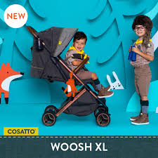 Обзор <b>коляски Cosatto</b> Woosh XL